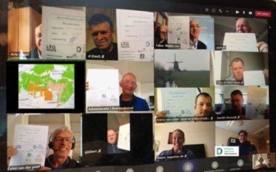 Agrariërs en waterschap trekken samen op voor schoon voldoende water in Rijnland